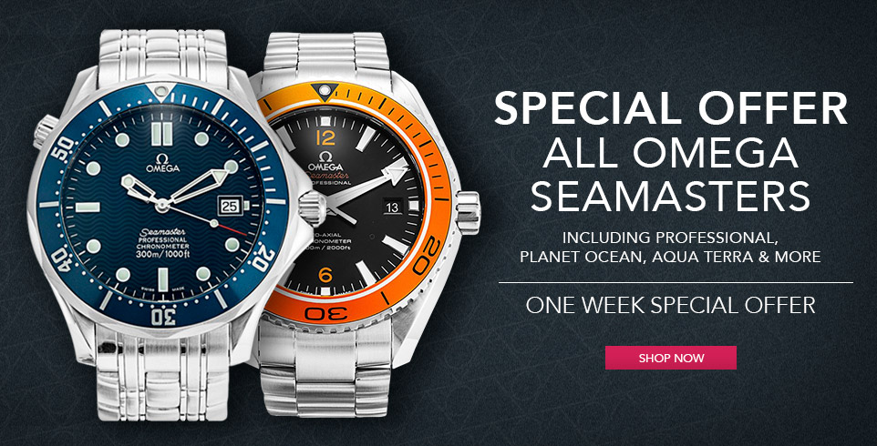 Omega Seamaster one week offer